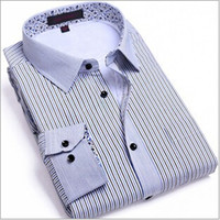 Cheap Wholesale-Free shipping!!!Top fabric quality silk men shirt long sleeve brand,Assembling Add hair thickening keep warm shirts for men 2015