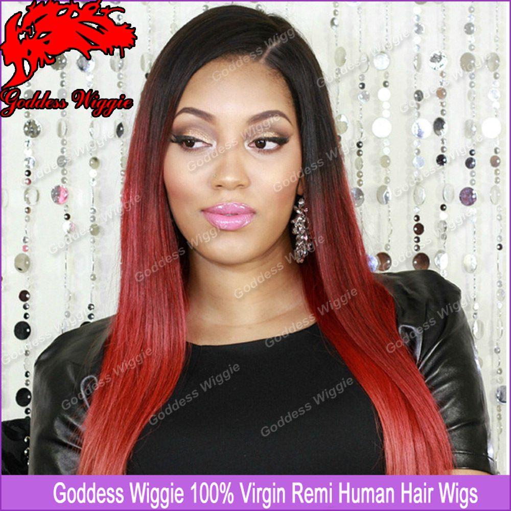 Brazilian Remy Lace Front Wigs Brazilian Remy Wigs Silky