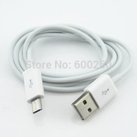 Wholesale Micro USB Data Charging Sync Cable for Samsung Galaxy S2 S3 S4 HTC BlackBerry New