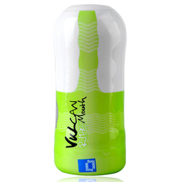 Wholesale FunZone Vulcan Ripe Mouth Male Masturbation Sleeve Green White