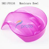 foam insulation - Freeshipping Manicure Tool Bubble Bowl of Insulation Foam Hand Bowl soften Dead Skin Bubble Nail Care Dropship SKU F0116