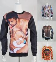 Cheap Wholesale-2015 New Women Men funny dollars cartoon Monsters University emoji 3d print Pullovers Hoodies Sweatshirts harajuku sweat suit