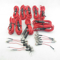Wholesale Sets Red RCA Jack Conversion Tattoo Power Clip Cord For Tattoo Power Kit Set Supply TCC05