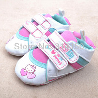Cheap Wholesale-FREE SHIPPING----Baby Girl Shoes pretty animal Shoes Children foot wear Soft sole shoes Toddler casual prewalker 1pair