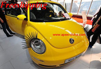 auto parts china - 3 different colors Car Eyelashes auto accessories from china Auto Parts carlashes D sticker for your women female popular gifts