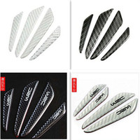 Wholesale Car Door Protector Fiber Door side Edge Protection Guards Stickers for Every car Carbon fiber