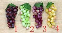 decorative artificial grapes - Simulation Artificial Plastic Grapes Fruit Home Restaurant Decorative Photographic Props