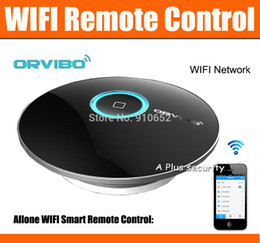 Wholesale-AllOne Orvibo wiwo-R1 Wireless Control Intelligent WiFi Center WiFi+IR+RF For IOS Android Phones Smart Home Automation Appliance