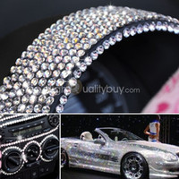 Wholesale New Car Auto Interior Exterior Sticker Bling Crystal Design Rhinestone mm