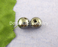 Wholesale Round Magnetic Hematite Spacers Beads mm dia B00133