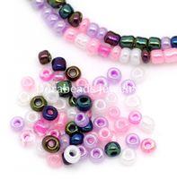 Cheap Free Shipping! 10000 Mixed Glass Seed Beads 10 0 Jewelry Making (B08644)