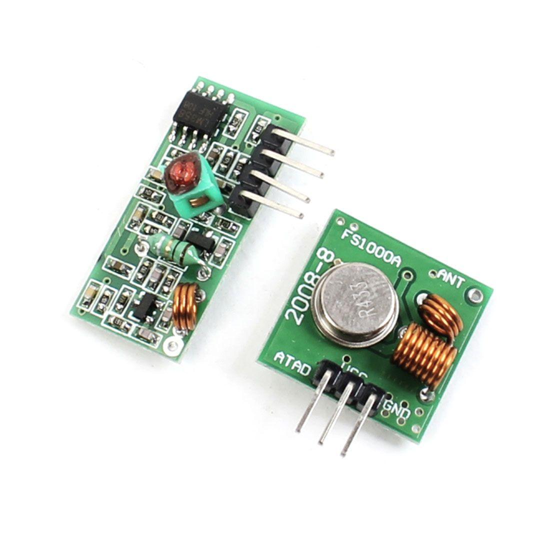 2017 433mhz wl rf transmitter receiver module link kit arm mcu wireless from ux168car. Black Bedroom Furniture Sets. Home Design Ideas