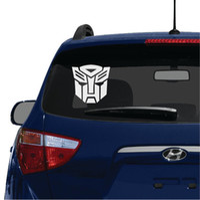 autobot car decal - AUTOBOT Transformers Logo Symbol Sign Vinyl Decal Window Sticker for Car Waterproof Car Decoration