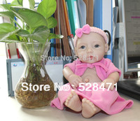 Cheap Lifelike Baby doll 11 inches Reborn Baby dolls mini Silicone Vinyl girl dolls soft toy dolls