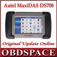 Wholesale 2014 Original Autel MaxiDAS DS708 Automotive Diagnostic System Full Package DS Get Mini ELM As a gift DHL