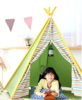 Cheap Wholesale-Free shipping Play House Tent Light Kids Room Teepee Lamp Smile Face Hang Led