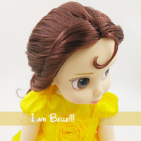 belle box - Princess animators Beauty and the Beast Doll Sharon Doll with Oringinal Box Gift For Girls Princess Belle Doll Toys