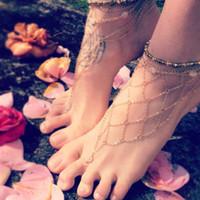 Cheap ankle bracelet Best barefoot sandals