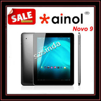 Wholesale Newest Ainol NOVO9 Spark Quad Core inch IPS Retina Capacitive x1536 pixel GB GB Allwinner A31 HDMI tablet Pc Anna