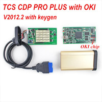 Cheap 2014.2 version TCS CDP PRO with M6636B OKI Chip+bluetooth for cars & trucks with full function