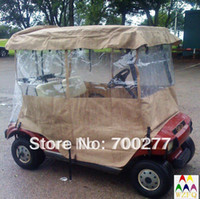 buggy cart golf - transparent rain enclosure cover for seater golf cart buggy