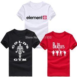 Wholesale Arctic Monkeys Men T Shirts Golds Gym T Shirt Cotton Breaking Bad tshirt Beatles Man Tops Star Wars Shirt JOY Mens Tee Euro Size