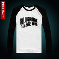 Cheap Wholesale-Free shipping 2015 New Arrival BBC icecream Billionaire Boys Club t-shirts Mens long sleeve shirts tees colorful letter style