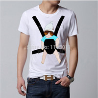 baby bjorn - The Hangover Baby Bjorn Posters Funny T Shirt Men Cotton Novelty Printed T shirt Short Sleeve Top Tees Camisa