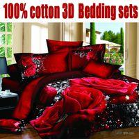 Cheap 3d bedding set rose flower sunflower horse bed sets 100% cotton marilyn monroe bedding lily green purple super man king size