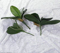 Wholesale Artificial Orchid Leaves flower Coffee Table Dining Table Decoration Artificial Plants