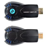 Cheap Wholesale-Free Shipping Wifi PC Wireless HD 1080p ezChromecast Digital HDMI Streaming TV Media Player Chrome Cast V5II TV Receiver Box Hot
