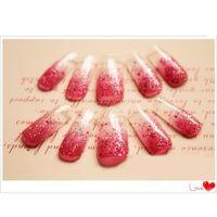 press on nails - press on nails Acrylic Nail Art Mold Tips Decoration False Nail Tips Dual Form Nail System for UV GEL set