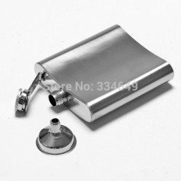Wholesale Liquor Wine Alcohol Cap oz Stainless Steel Hip Flask Pocket Bottle for Whiskey Best Selling