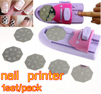 professional salon equipment - Professional nail stamp machine nail printer stamping tool beauty salon equipment for nail with Pattern Palettes