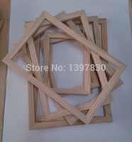 Wholesale Oil painting box box pine solid wood article creative puzzle box wooden frame size can be customized