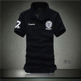 Wholesale COLOR short sleeve classic male POLO shirts large plus size S xxl xxxl XL xl summer clothes new men s