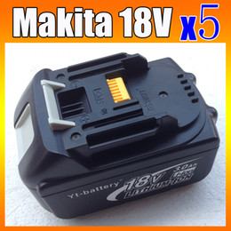 brand new 5 PACK Makita 18v Lithium-Ion Battery BL1830 3.0A for power tool A+++++