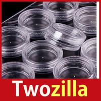 Wholesale Twozilla Storage Bottle Plastic Empty Box Case Pot For Nail Art Rhinestone Bead Gems Hot
