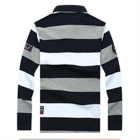 shirts for men italian - New spring autumn paul Men polo Shirt Men s long Sleeve shark polo shirts the Italian brand loose shirt for man