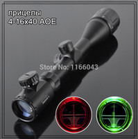 airsoft gun - Excellent Hunting x40 AOE Rilescope For Airsoft Gun Adjustable Scope Riflescope Tactical Airsoft Gun mm Rail Mounts