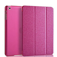 auto pink slip - Luxury Supper Slip Auto Sleep Wake Up PU Leather Full Body Case for iPad mini Assorted Colors