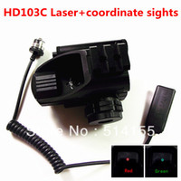 riflescopes red dot - NEW telescopic sight DH103C Red Green Dot Reflex Sight gun sight riflescopes night vision scopes for hunting FreeShipping