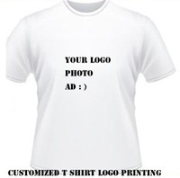 t-shirts no logo - customized t shirt logo printing adults kids Customized Printing T Shirts Heat transfer print No MOQ Reuqest