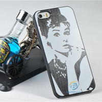 audrey hepburn items - Piece New Arrival Luxury Novelty Cute Audrey Hepburn PC cover For Apple IPhone s g s g Cell Case Items