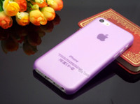 al shell - OA amp amp UAT AL PC Ultra thin Transparent Phone Cover Cases For Apple iPhone5C iPhone C Case Protection Shell