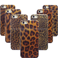 Cheap Wholesale-1PC Leopard Prints Hard Back Cases For iPhone 4 4S Case Cover For iphone4 4G Phone Protection Shell::WEU116 GGJJSS1 HHKKX UUWWW1