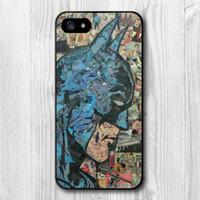 batman comics books - Retro Vintage Batman Comic Book Protective Cover Case For iPhone S S C Plus TC1517