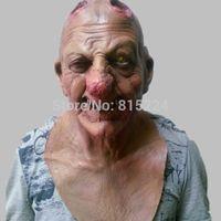 horror - X MERRY Halloween carnival party horror scary skeleton head mask