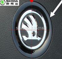 Wholesale Auto steering wheel ring interior decoration trim for skoda octavia superb yeti rapid