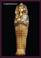 animal coffins - Over Egypt Pharaoh Tutankhamen Coffin Tourist Metal Fridge Magnet